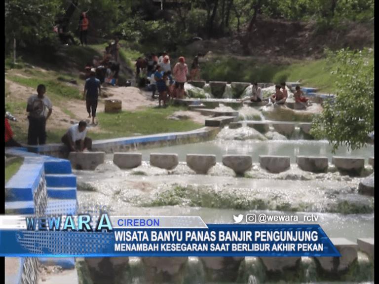 Wisata Banyu Panas Kecamatan Gempol Banjir Pengunjung